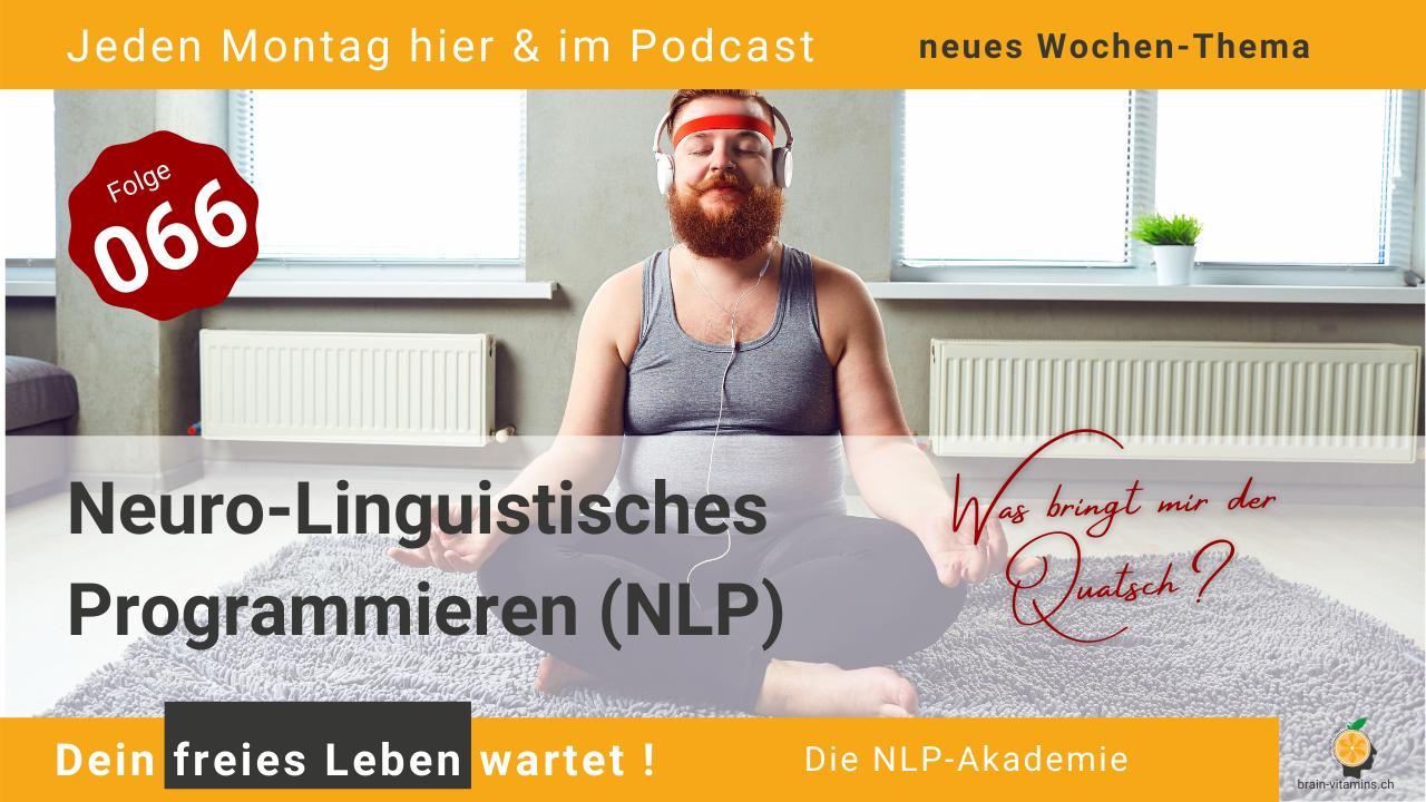 Neuro-Linguistisches Programmieren (NLP) - #066