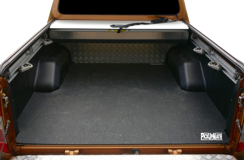 Wanne NEU Antirutschmatte für Nissan Navara NP300 Doppelkabine PickUpMatte