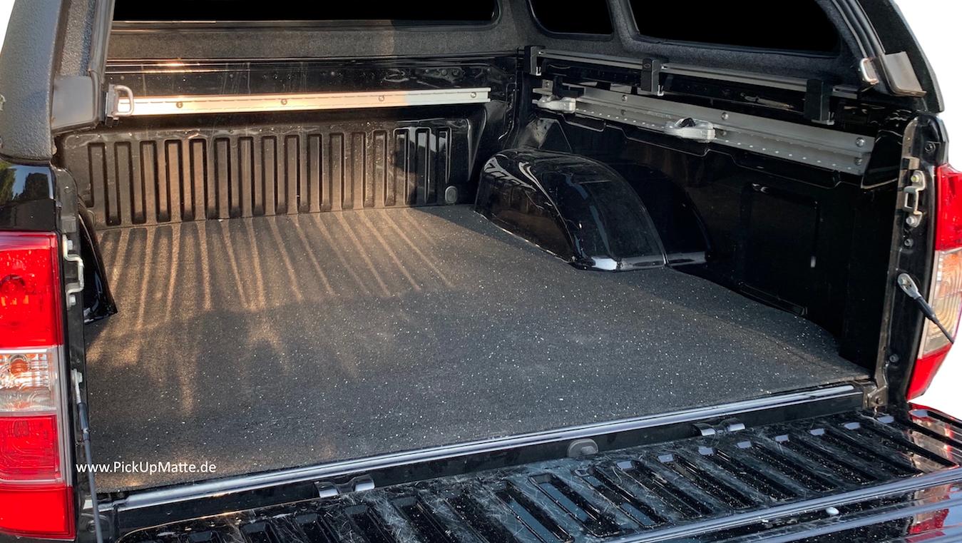 Bj:03//2005-12//2015 Antirutschmatte Nissan Navara D40 long bed,Doppelkabine