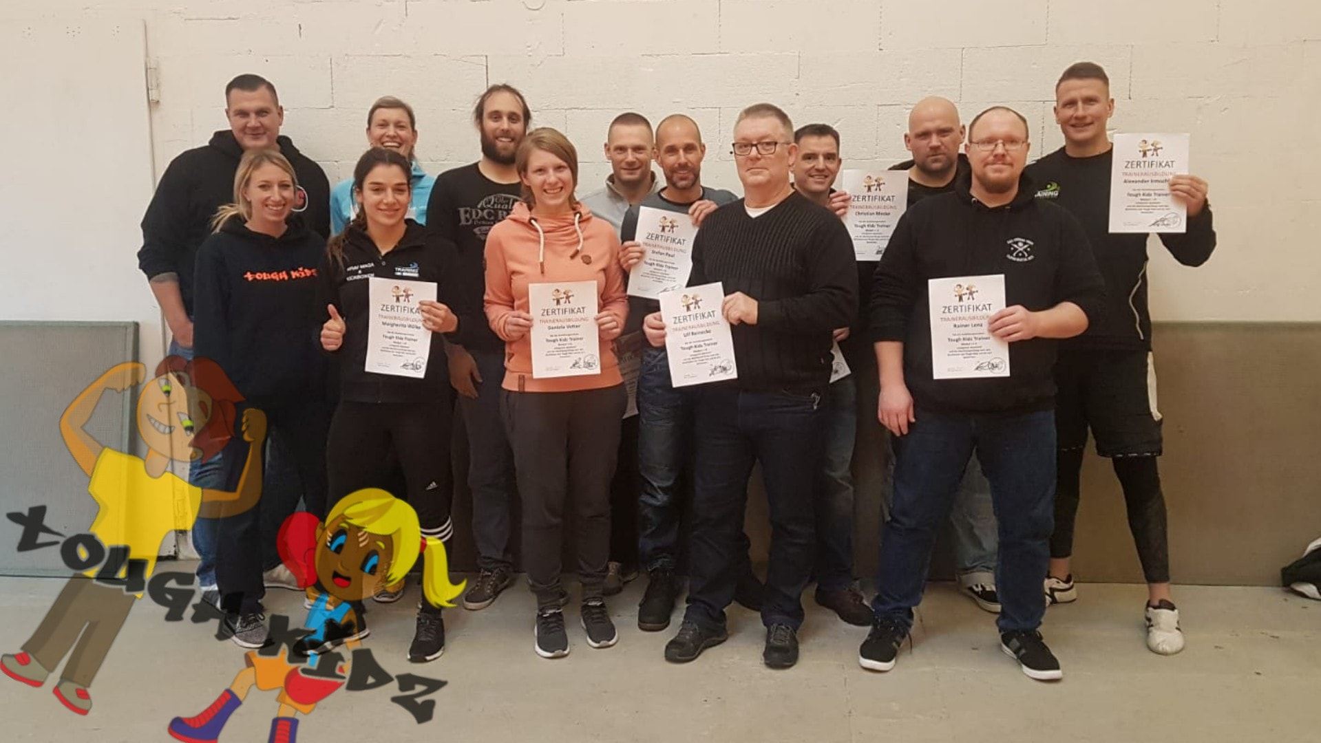 Tough Kidz - Trainerausbildung 2019 in Dresden