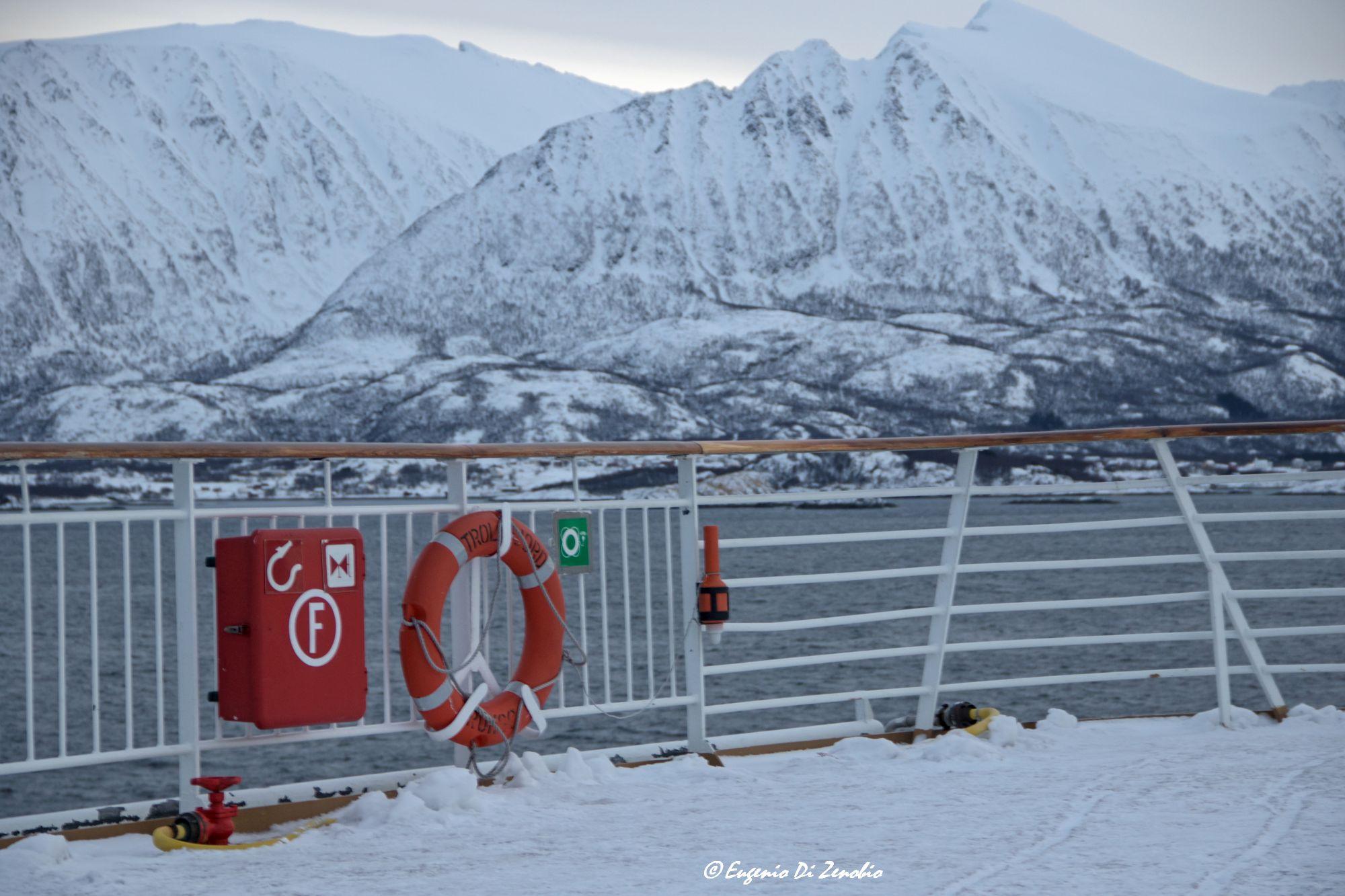 Sull'Hurtigruten, da Tromso alle Lofoten