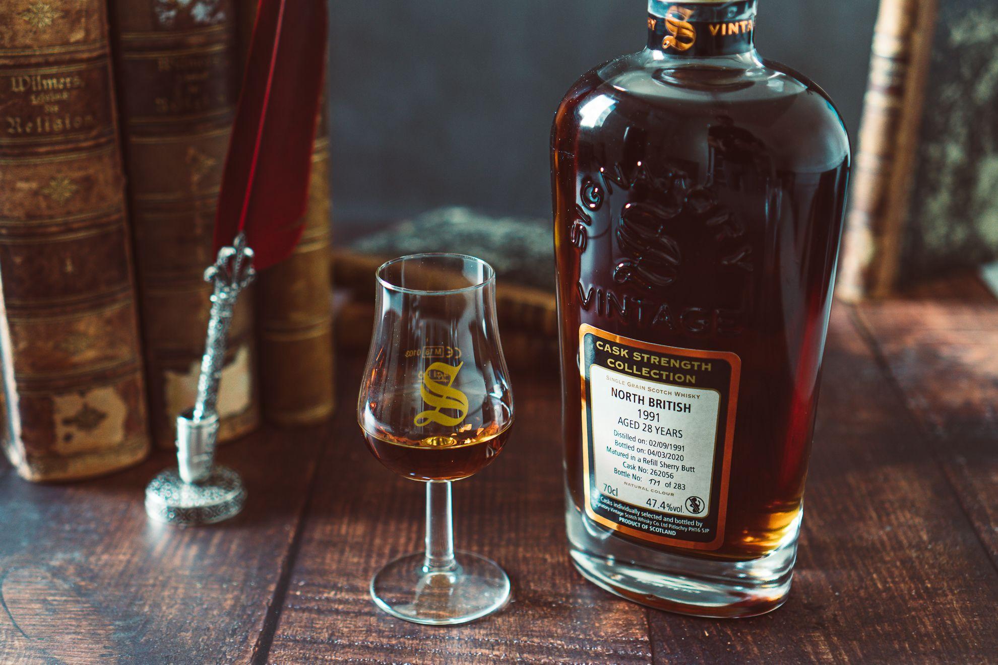 North British 1991/2020 - Single Grain Whisky - 28 Jahre - Cask: 262083 - Refill Sherry Butt - 47,8% Vol.