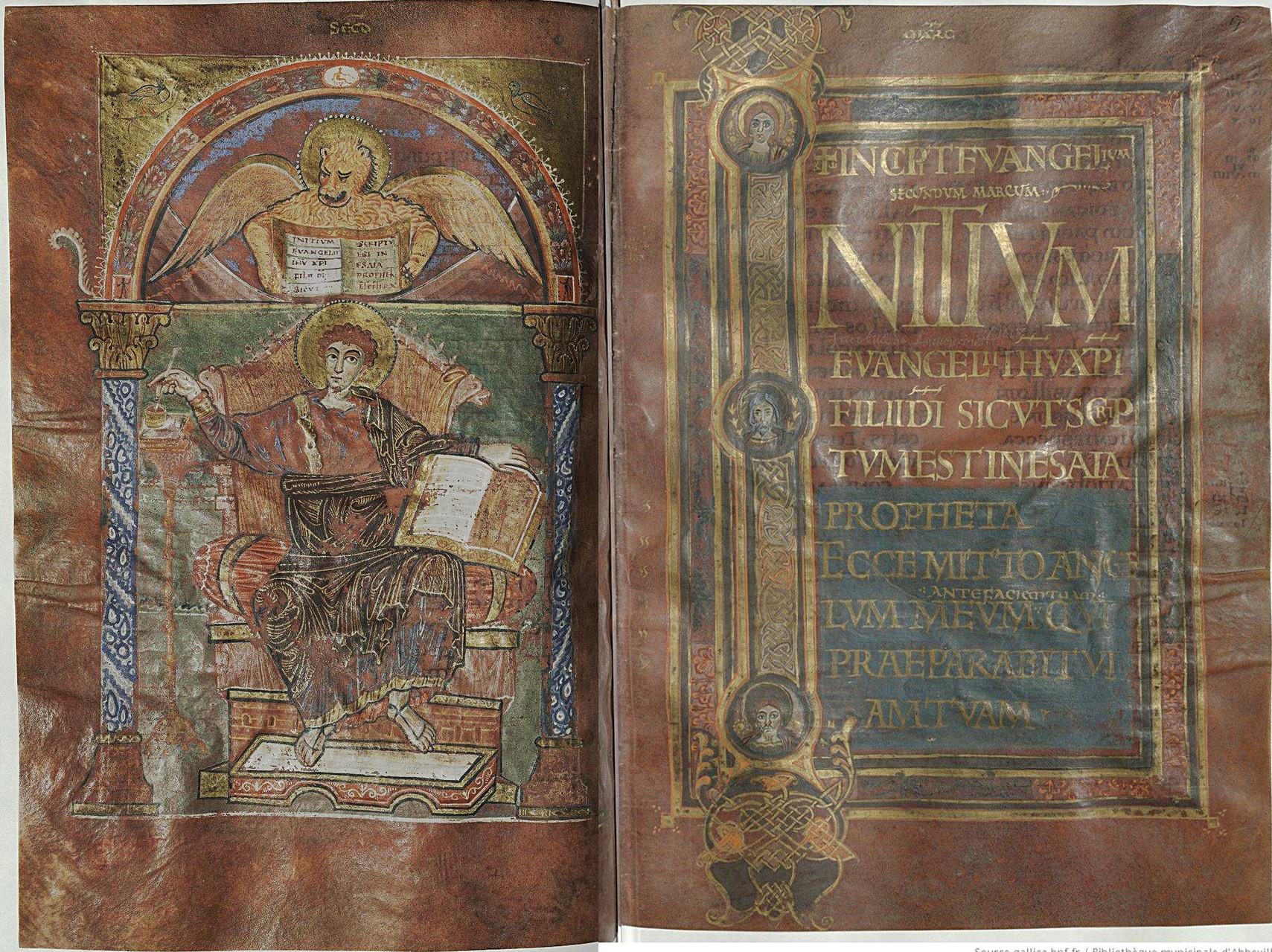 Saint Marc et Incipit