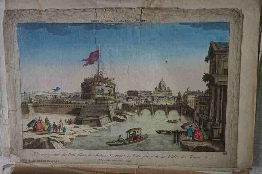 Rome, le Tibre et le Château Saint-Ange