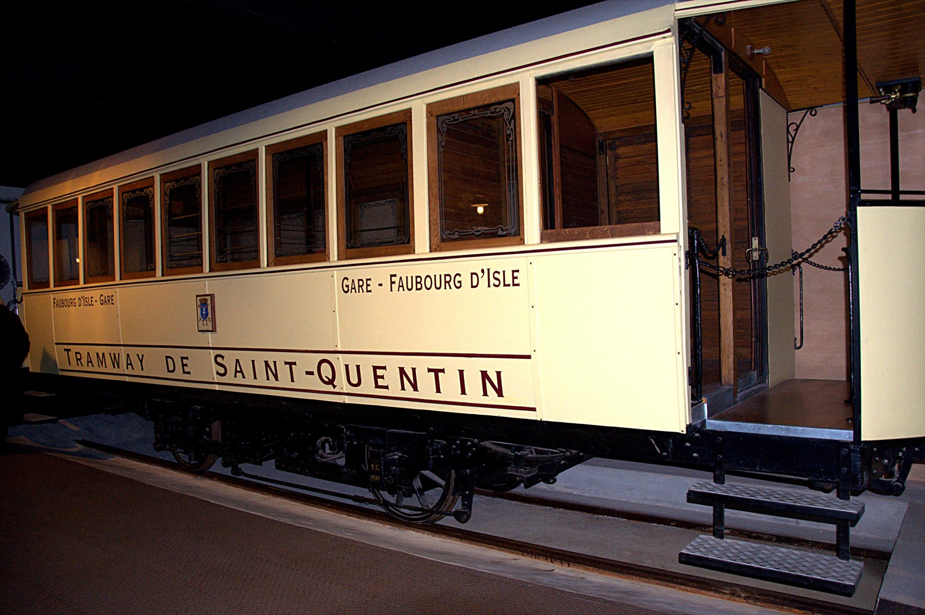 Le tramway de Saint-Quentin