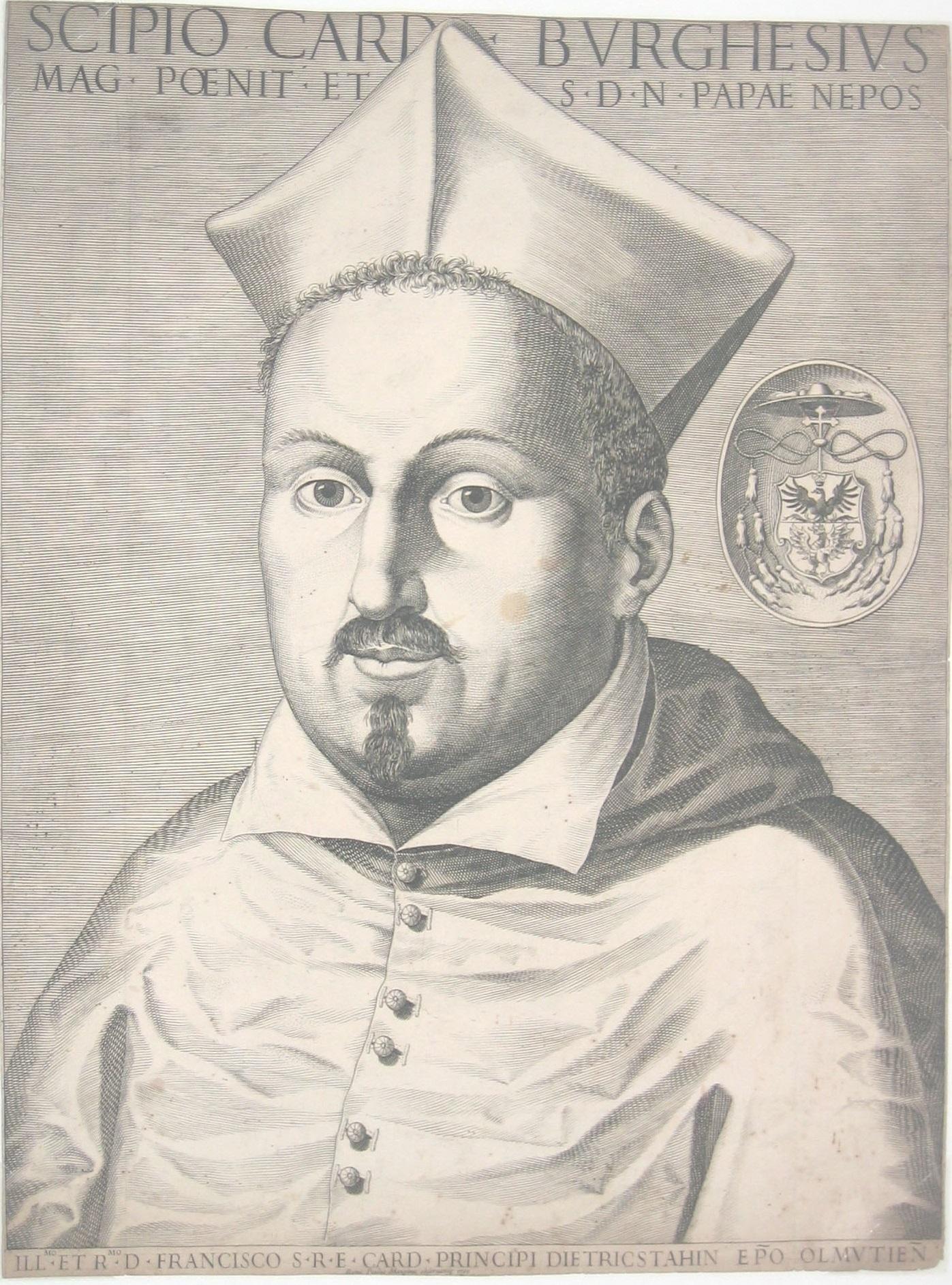 Une gravure de Paul Maupin : le cardinal Scipion Borghese