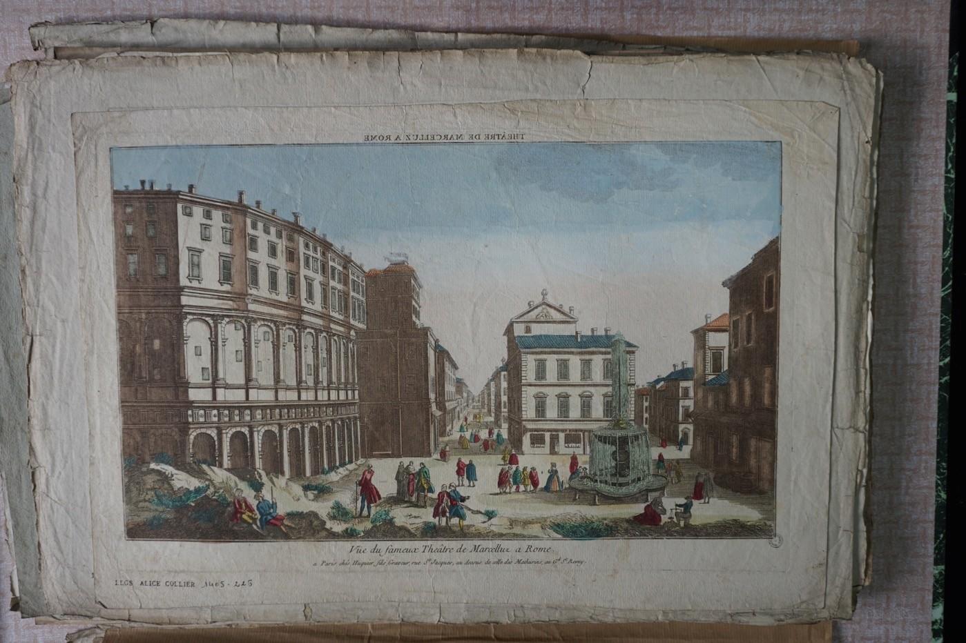 Rome, théâtre de Marcellus