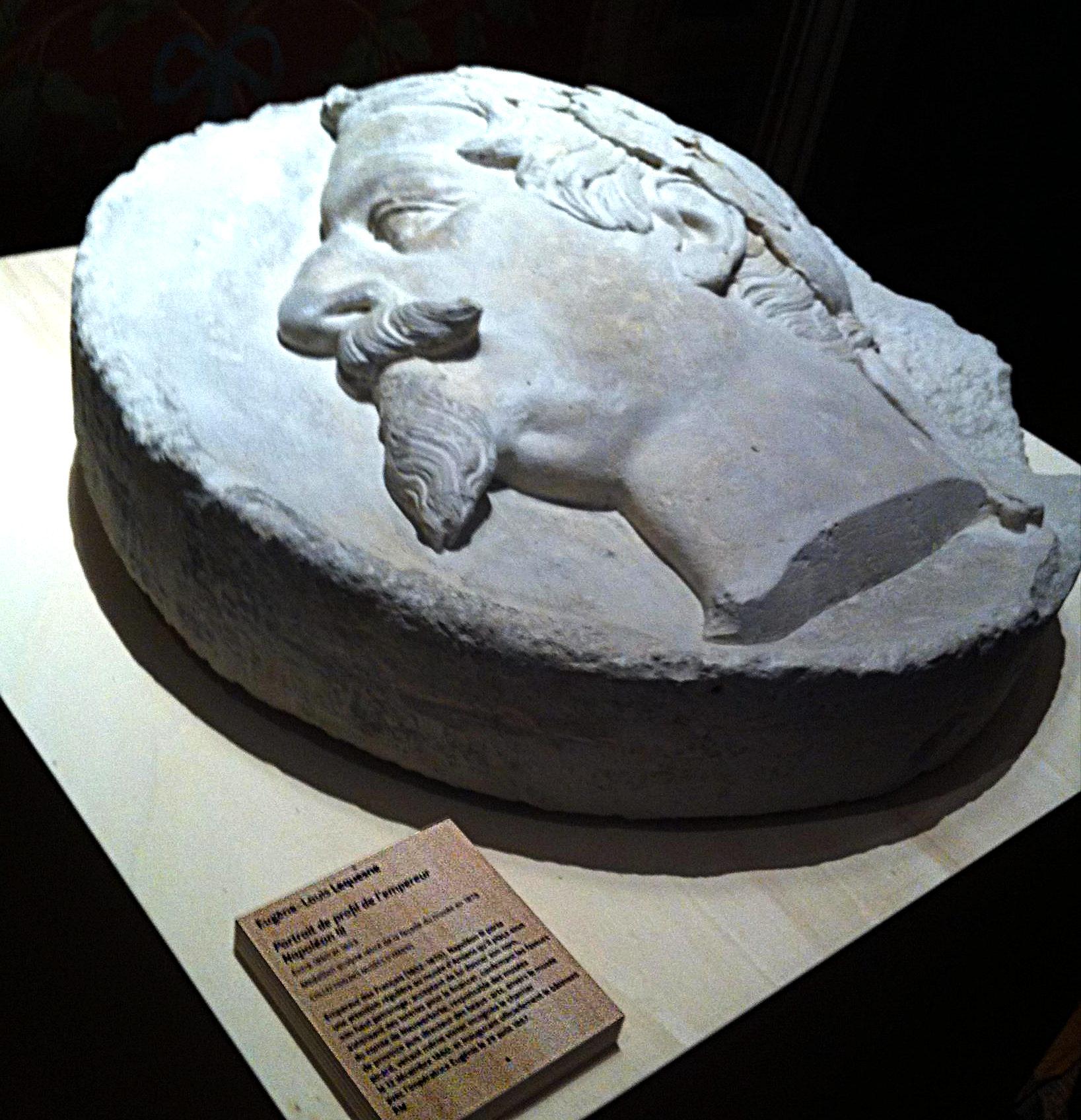 Médaillon à l'effigie de Napoléon III