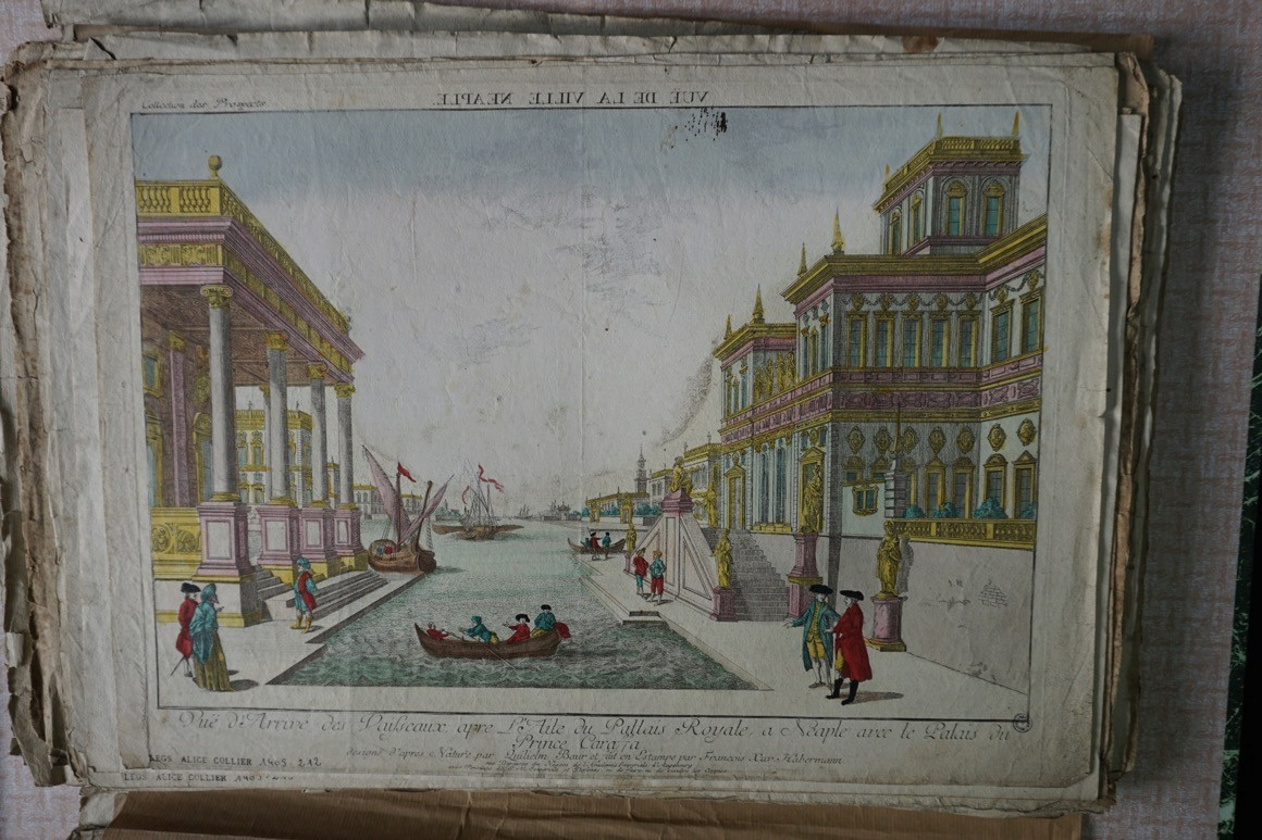 Naples, Port et Palais royal