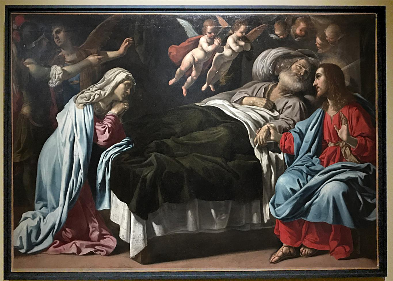Manetti Rutilio, Mort de Saint Joseph, vers 1632 /