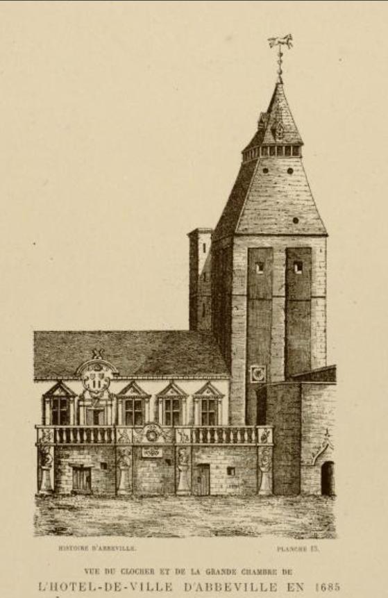 Beffroi, 1685