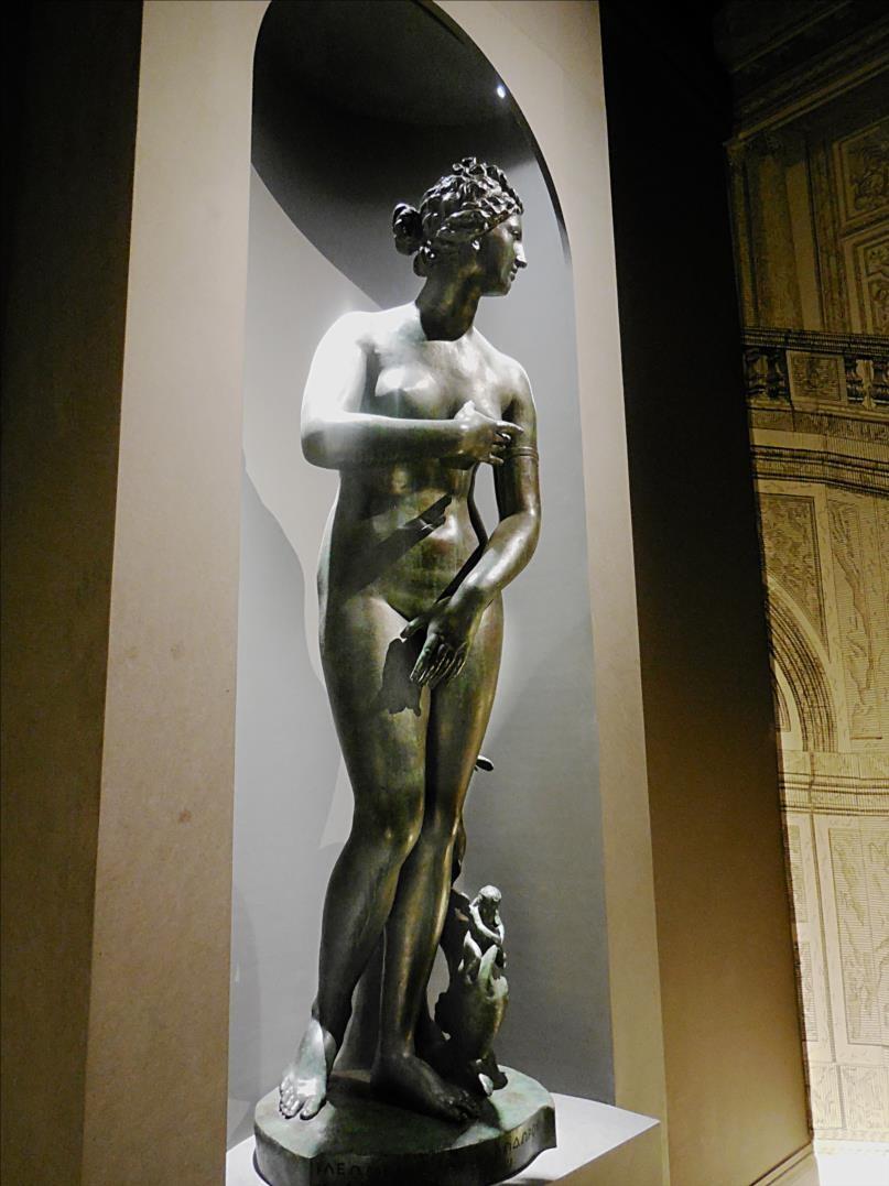Vénus pudique, dite Vénus Médicis Jean-Balthasar Keller, 1687, statue, bronze