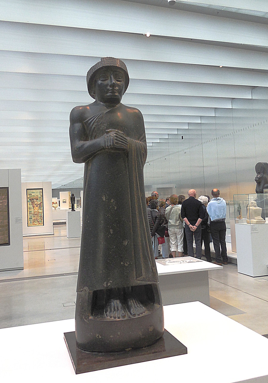2120 av J.C., Mésopotamie (Iraq), Gudéa, prince de l'Etat de Lagash