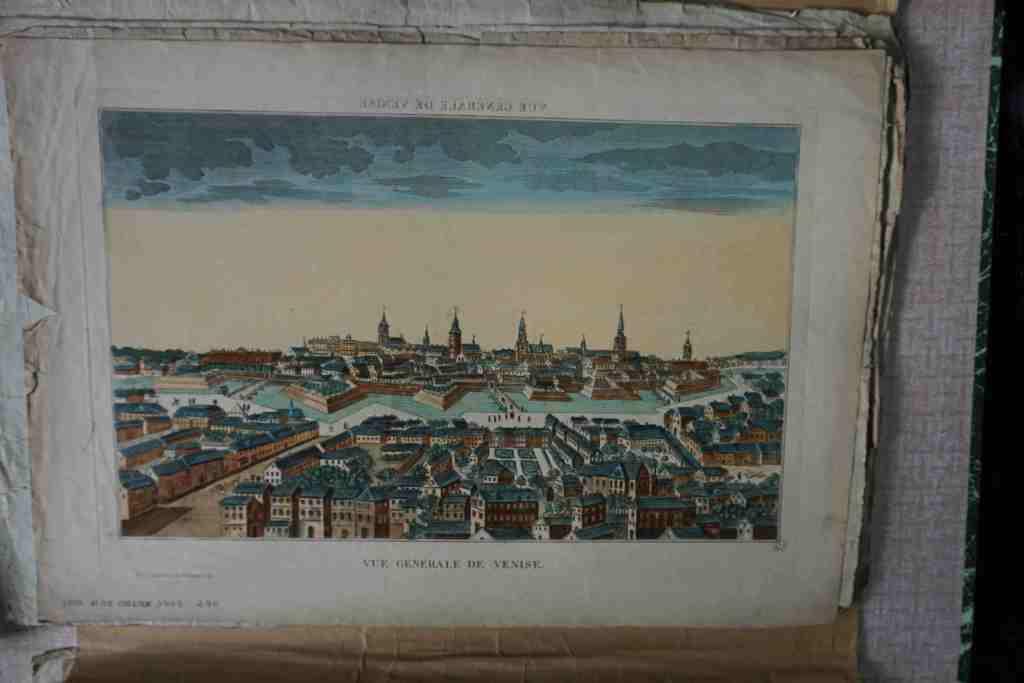 Venise, vue générale (complètement imaginaire)