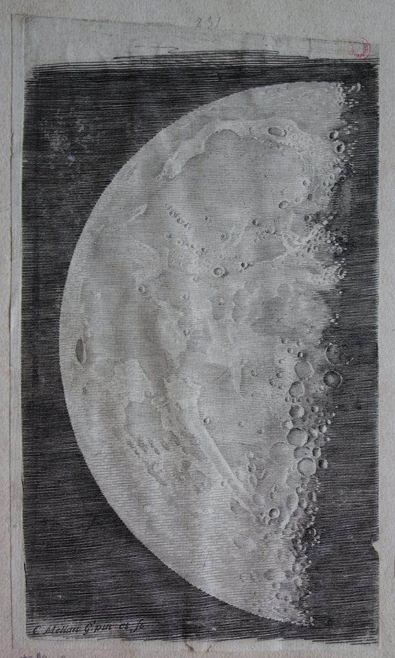 Claude Mellan, Face de la lune 3 / Photo Agathe Jagerschmidt, Facebook Musée d'Abbeville