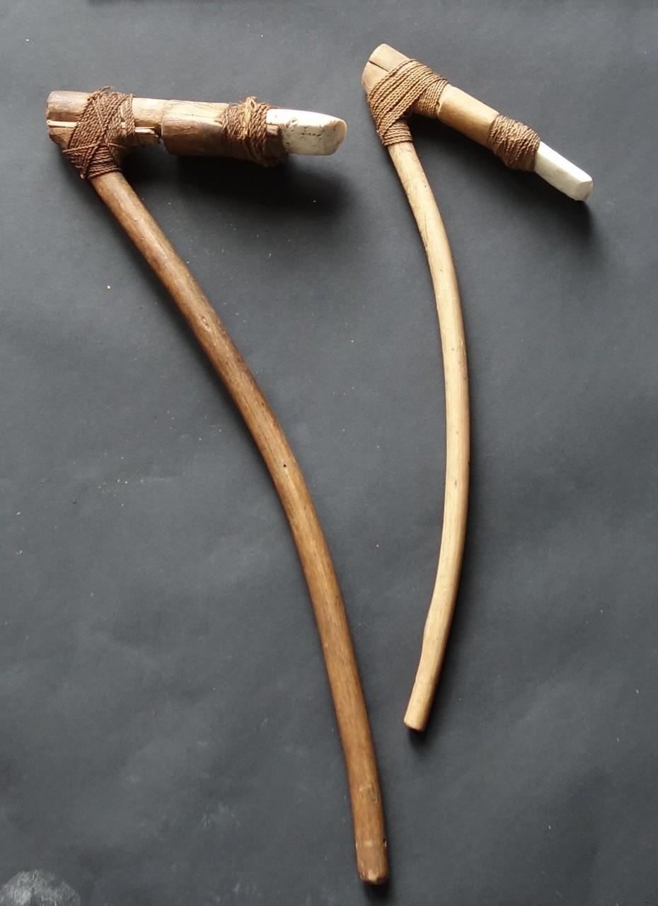 Panoplie océanienne, herminettes de Polynésie, Musée Boucher-de-Perthes, Abbeville / Livret adulte image 3