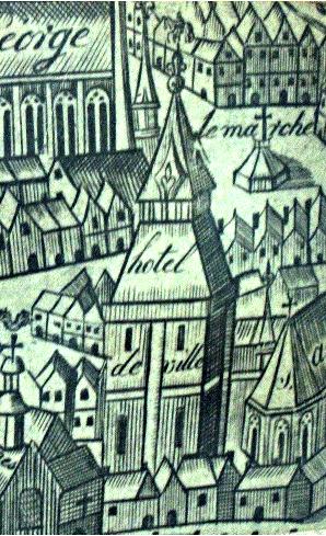 Beffroi, 1663