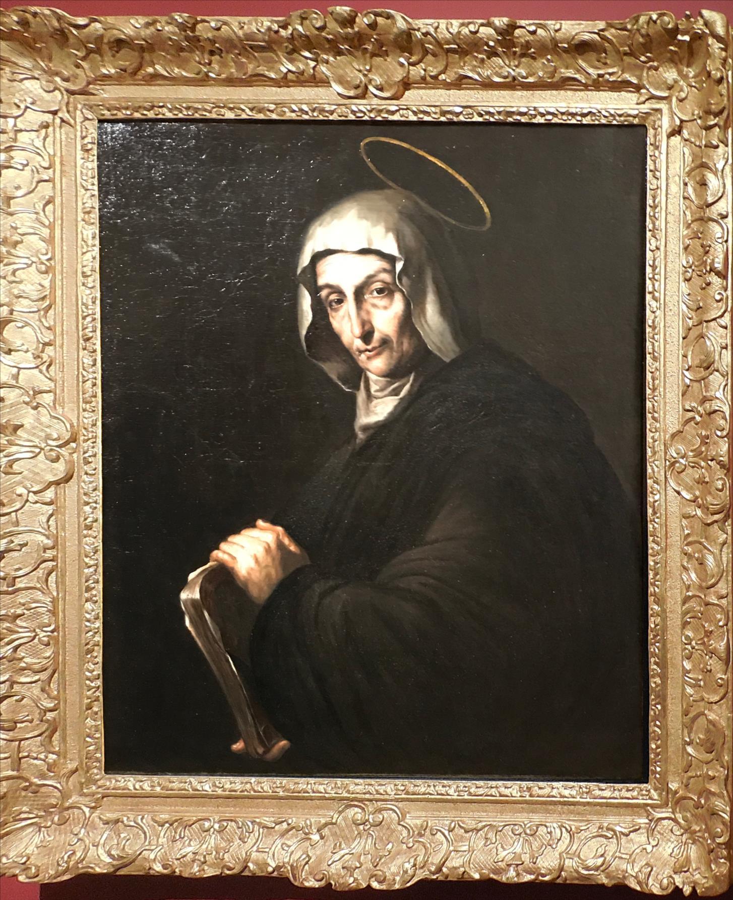 Sainte religieuse âgée, anonyme, Naples, vers 1650 / Musée Boucher de Perthes