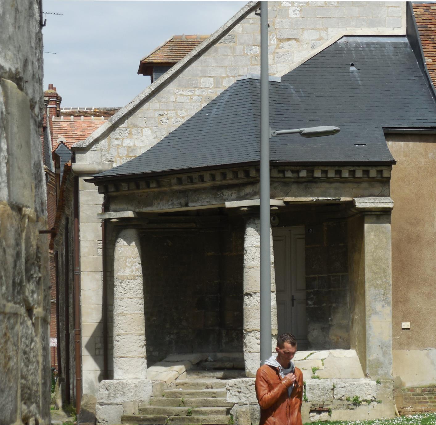 Vestige d'un portique romain