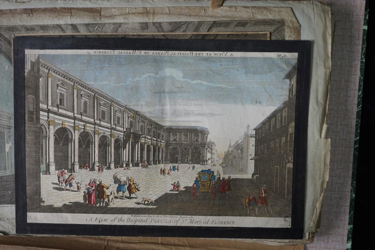 Florence, Place de l'Hopital