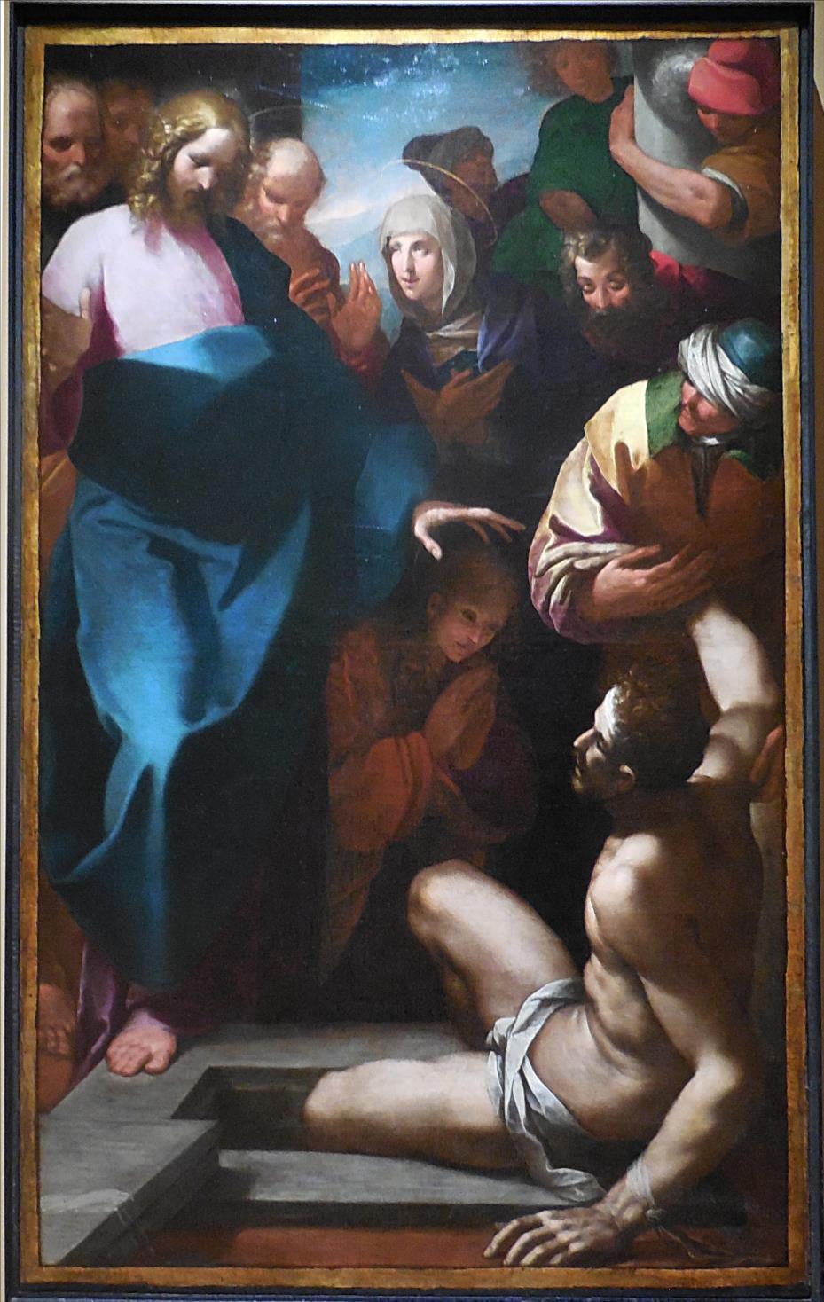 Il Morazzone, La résurrection de Lazare, vers 1598 / MUDO