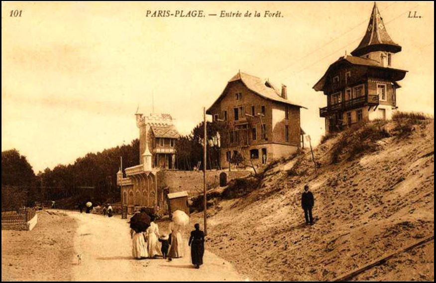 Village suisse en 1906 / in Le Touquet, musée virtuel