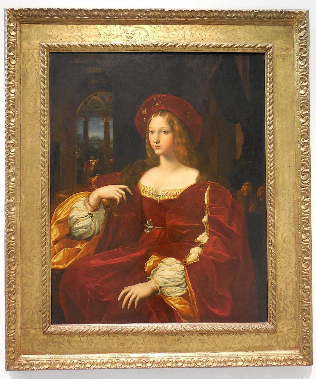 1518, Raphaël, Portrait de Dona Isabel de Requesens, vice-reine de Naples