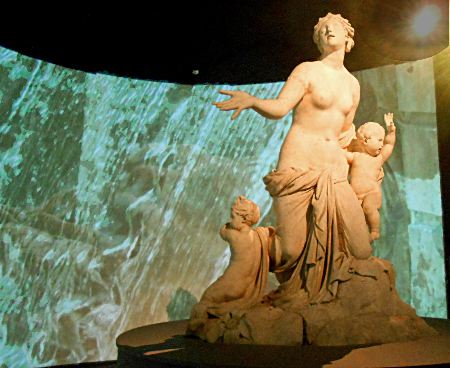 Latone et ses enfants, Gaspard et Balthazard Marsy, 1668-1670, marbre