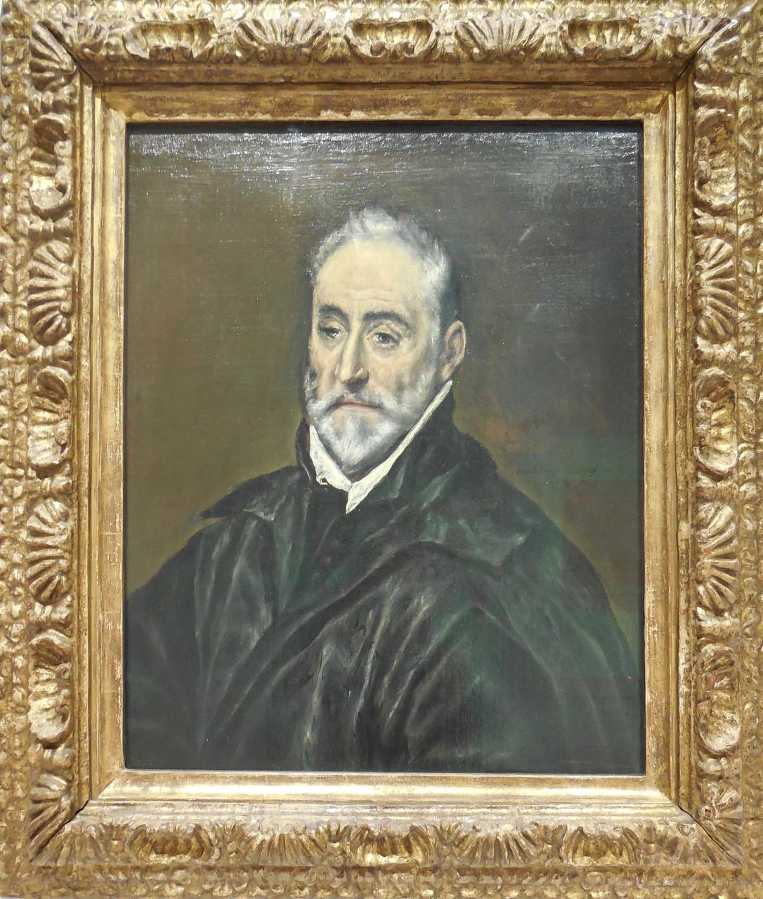 vers 1600, Espagne, El Greco, Antonio de Covarrubias y Leiva (1514-1602)