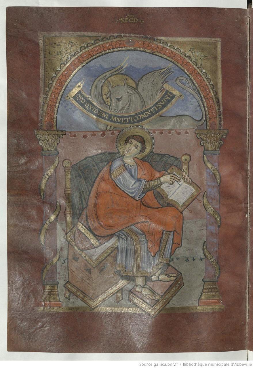 Saint Luc, f. 101v