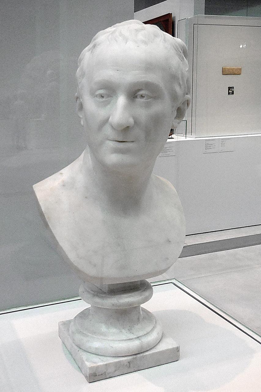 1775, France, Houdon, Le philosophe Denis Diderot
