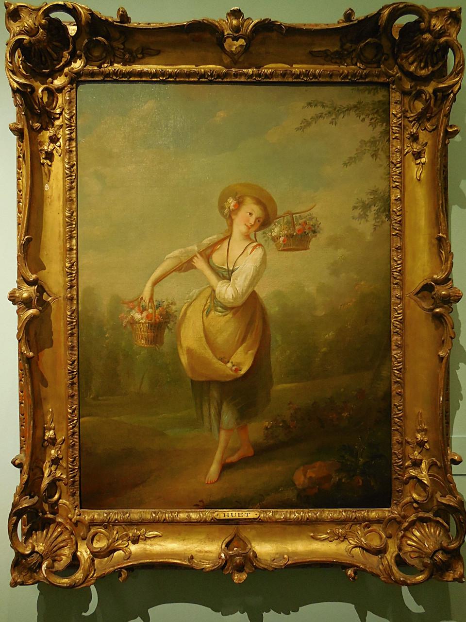 Huet J-B, La bouquetière, c. 1780, Musée Cognac-Jay / Photo JH