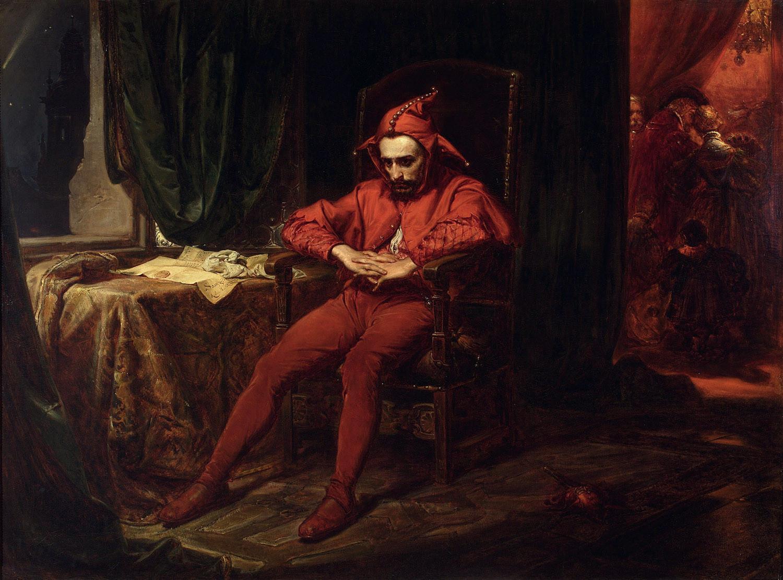 Matejko Jan : Stańczyk, 1862, Varsovie