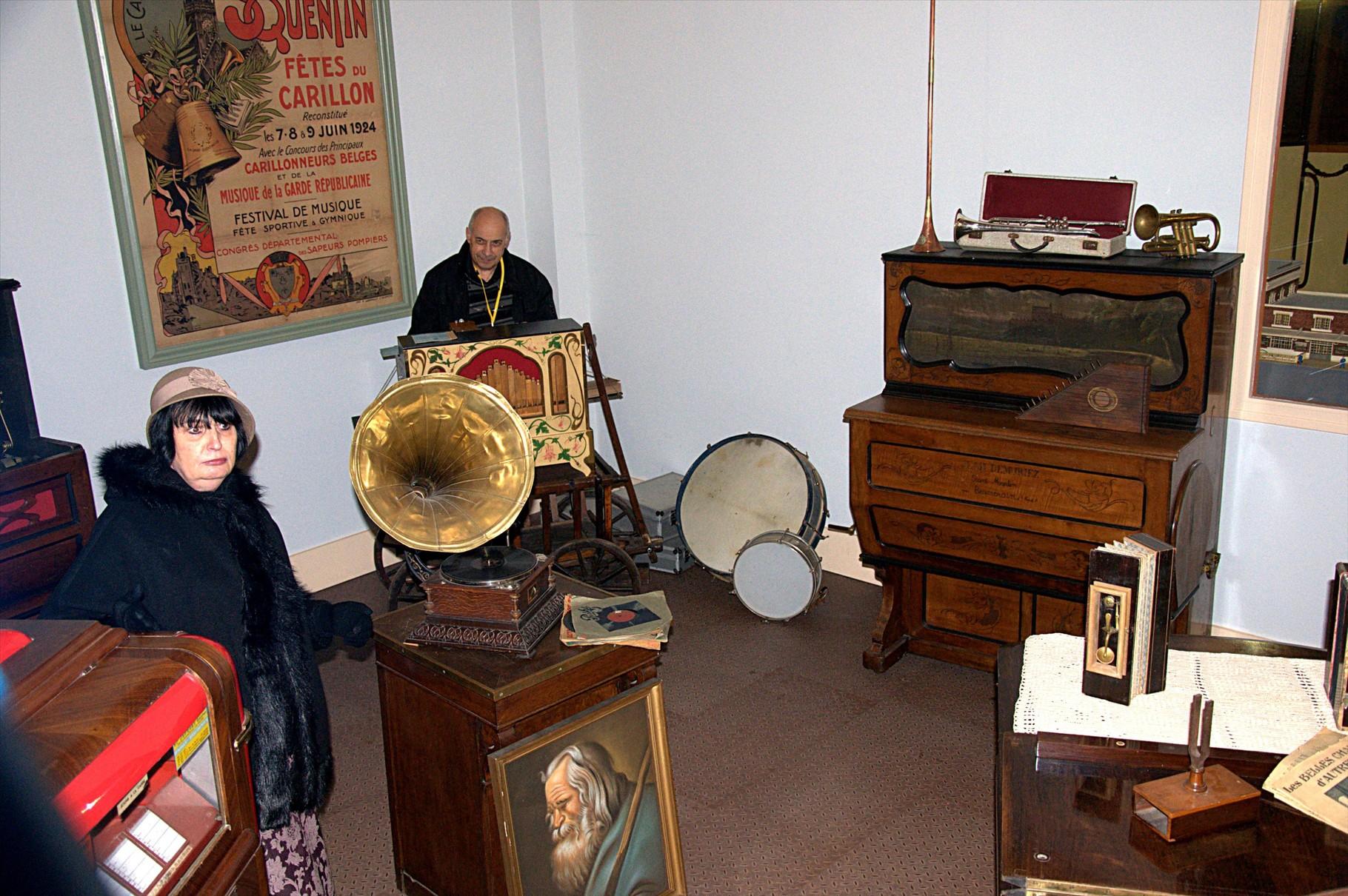 Le magasin d'instruments de musique
