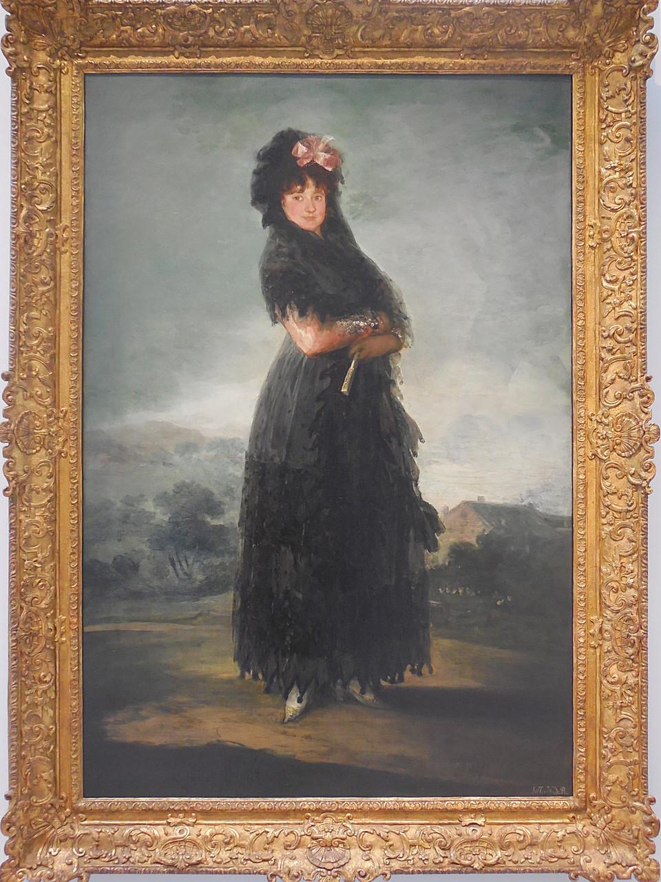 vers 1800, Espagne, Goya y Lucientes, Mariana Waldstein, 9ème marquise de Santa Cruz
