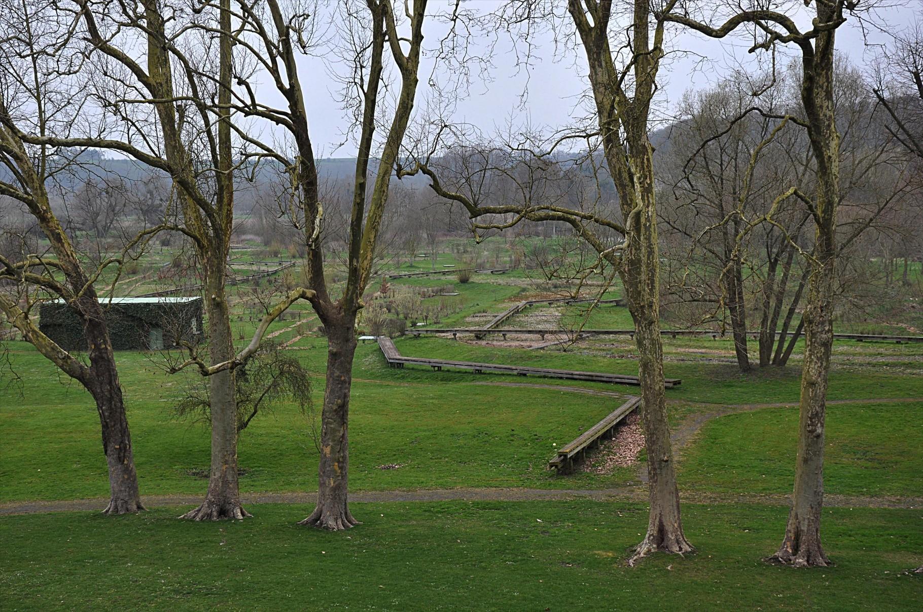 Un des jardins mis à disposition des habitants pour leurs loisirs mais aussi dans un but éducatif