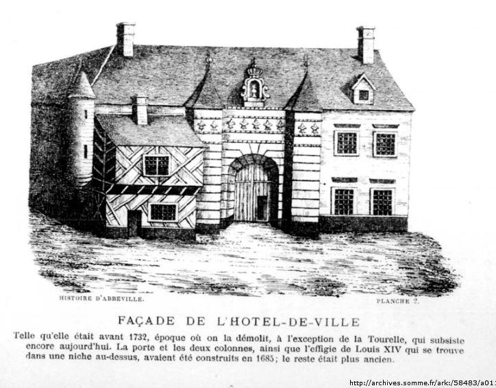 Hôtel de ville, avant 1732