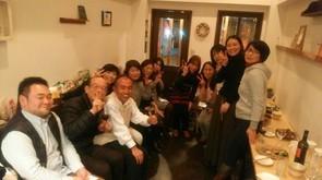 浅井先生との初めてのお出会い。仲間たちと共に。