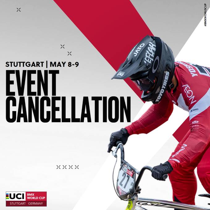 Event Cancellation | 2021 UCI BMX World Cup