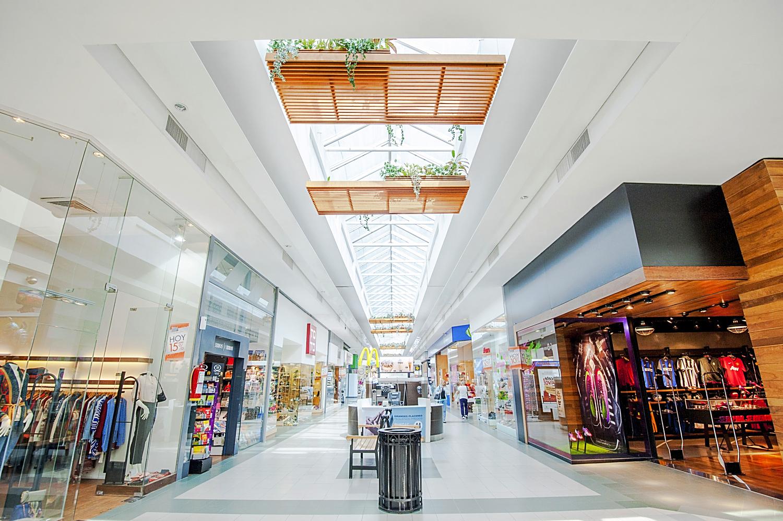 Einkaufszentrum-Reinigung