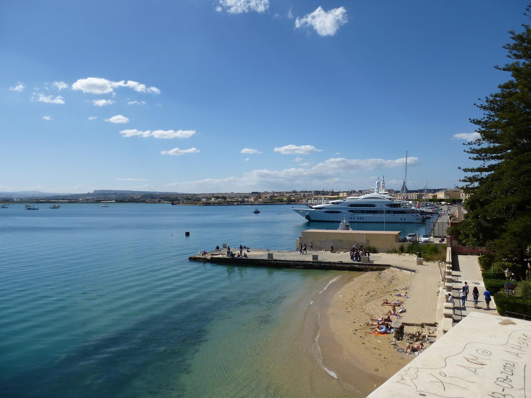 Little port of Ortigia Island