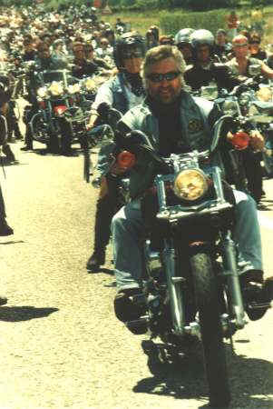 Road Captain Werner - beim Big Event Faak 1998