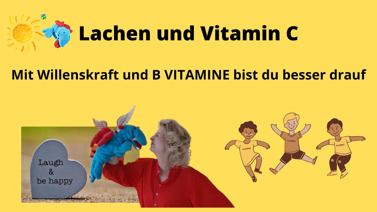 Mit Willenskraft un B Vitamine bist du besser drauf