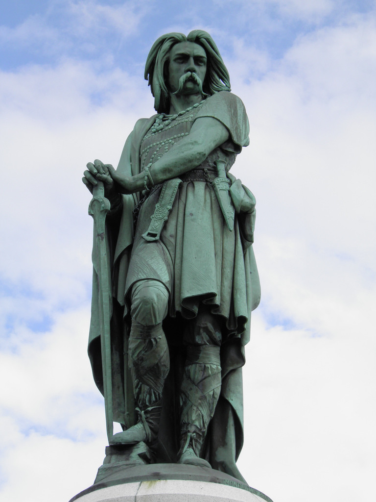 Statue Vercingétorix - Alise-Ste-Reine