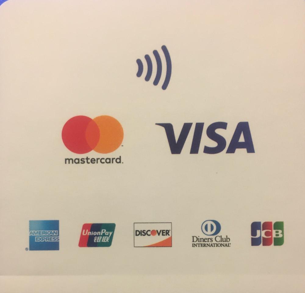 Kartenzahlung und kontaktlose Zahlung