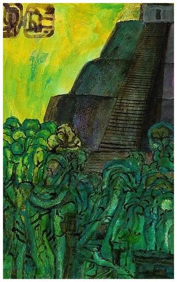 """""""Verborgener Tempel"""" 1996 TA TB"""