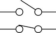Schaltsymbol eines Schalters