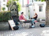 2007年蒲田駅にて