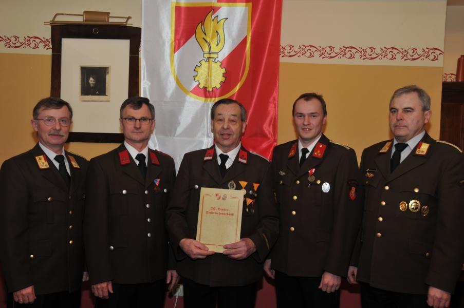 Rudolf Freudenthaler, 60 Jährige aktive Mitgliedschaft!