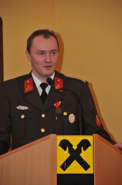 Kommandant HBI Michael Mayrhofer
